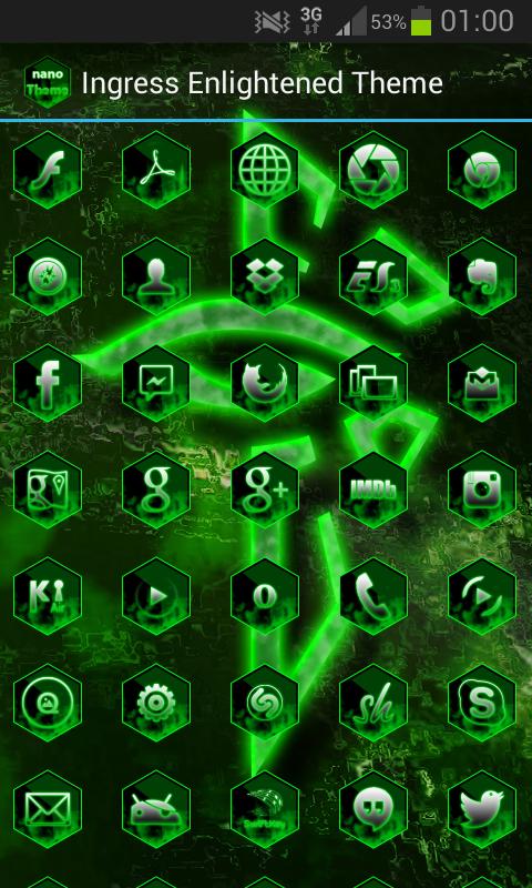 Ingress enlightened wallpaper android alpha beta demo enlightenedstyle apexthemehd android apps on google play altavistaventures Gallery