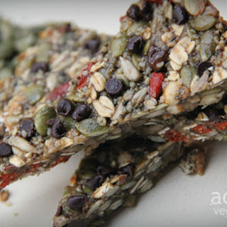 Superfood Granola Bars [Vegan, Raw, Gluten-Free]