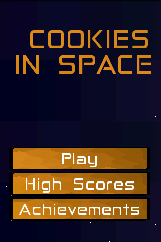 Cookies in Space- screenshot
