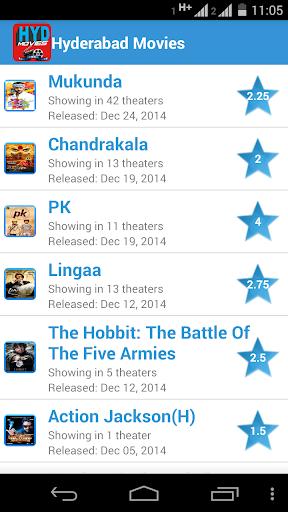 Telugu Movies Show Times