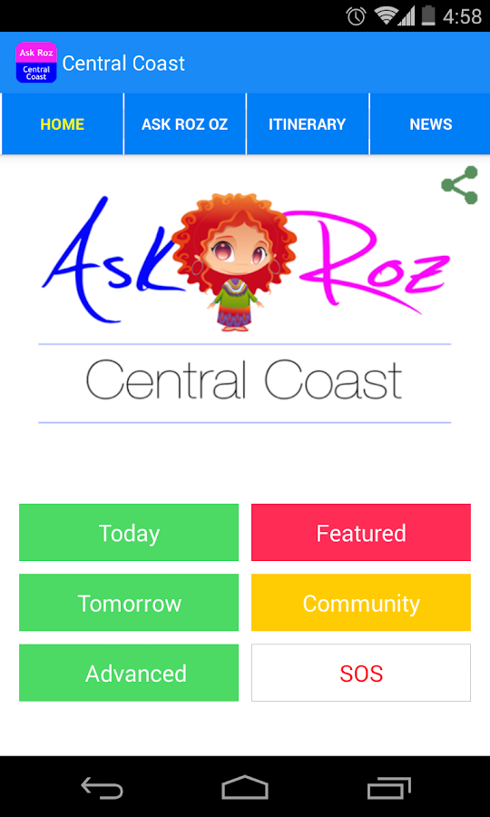 Ask Roz Central Coast- screenshot