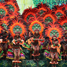 Dinagyang warriors by Banggi Cua - People Musicians & Entertainers ( dancers, iloilo, dinagyang, festival, philippines )