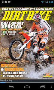 DIRT BIKE MAGAZINE screenshot 1