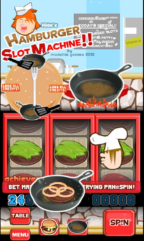 Hamburger Slotmachine Free - screenshot