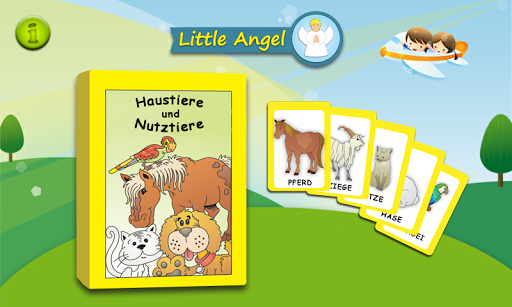 Flashcards Haustiere