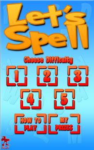 Lets Spell: Learn To Spell- screenshot thumbnail