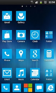Theme windows 8 metro blue - screenshot thumbnail