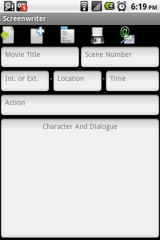 Screenwriter- screenshot