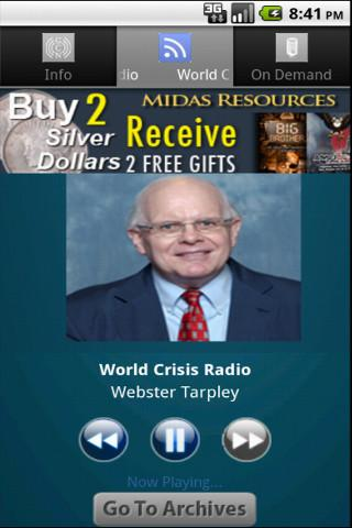 World Crisis Radio - screenshot