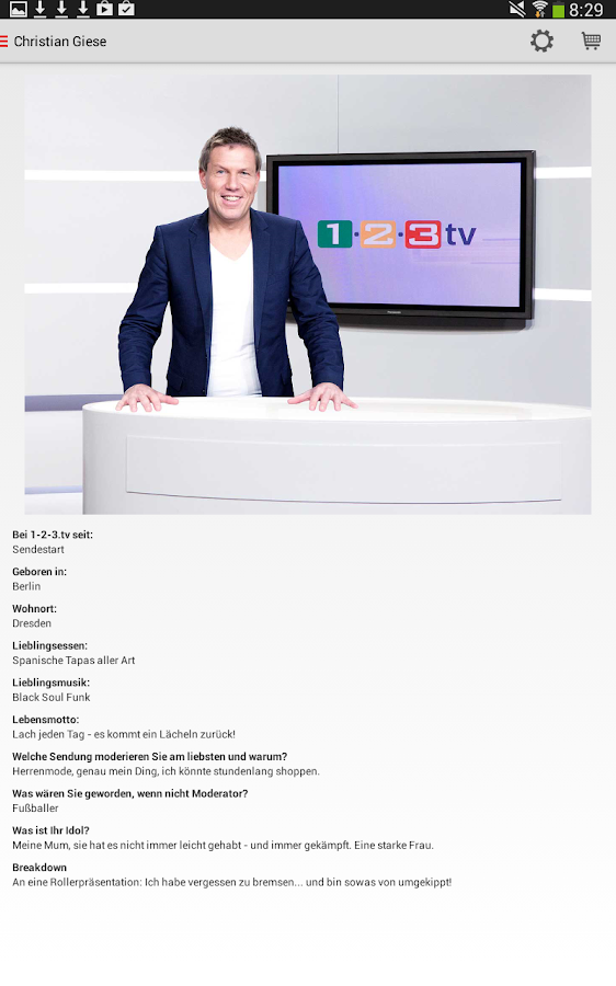 1-2-3.tv Der Auktions-Sender – Screenshot
