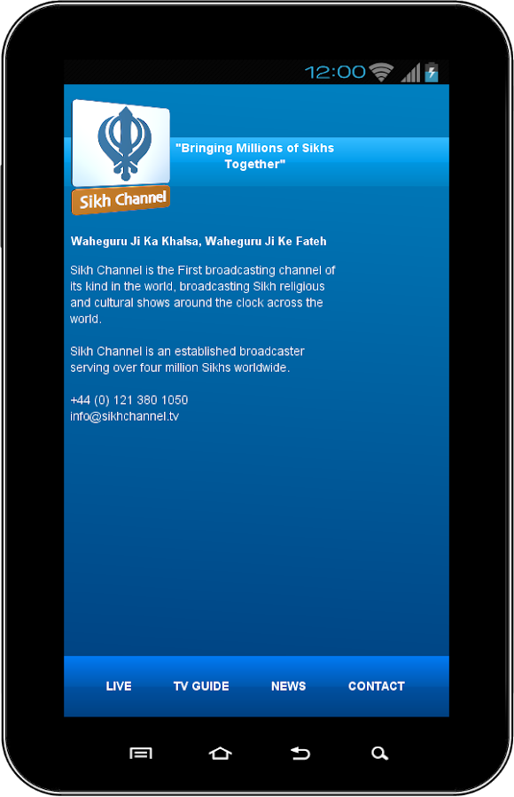 NEW: Sikh Channel App - screenshot