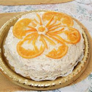 Perfect Flourless Orange Cake.
