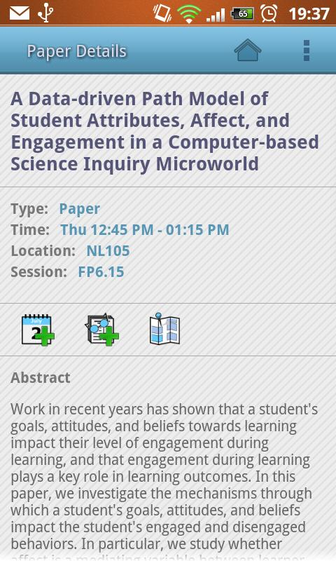 ICLS 2012- screenshot