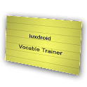Vocabulary Trainer Flashcards