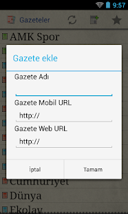 Gazeteler - screenshot thumbnail