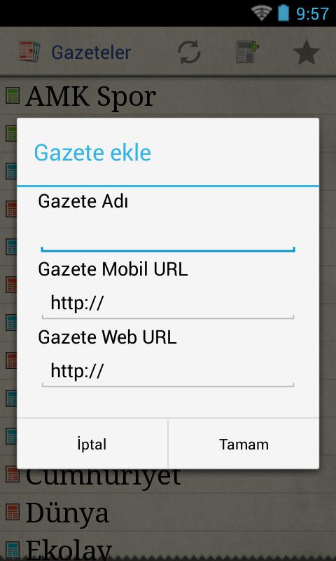 Gazeteler - screenshot