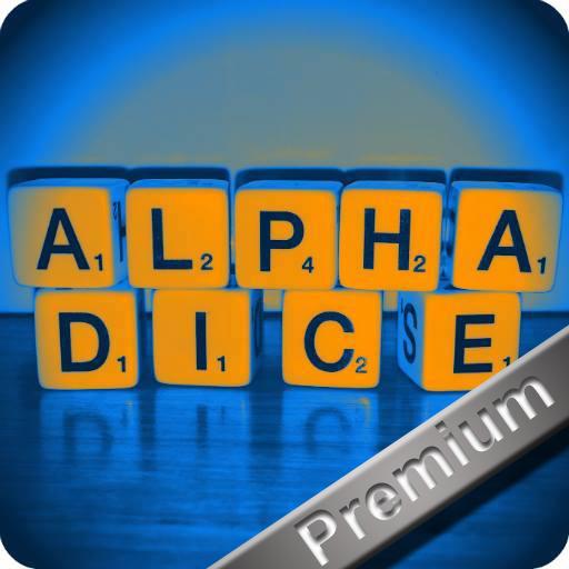 Word game: AlphaDice Pro
