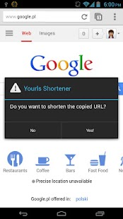 Yourls Shortener - screenshot thumbnail
