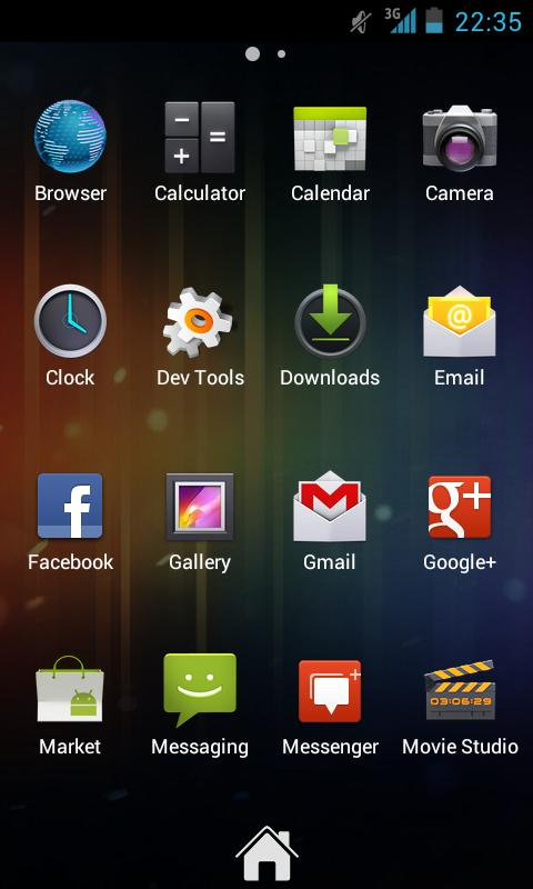 Zeam Launcher - screenshot