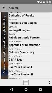 MPD Remote (free) - screenshot thumbnail