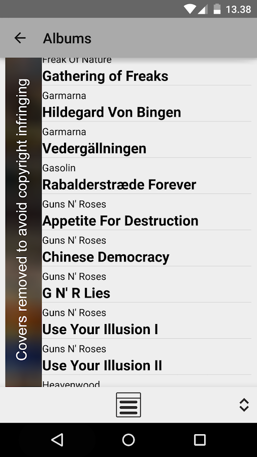 MPD Remote (free) - screenshot