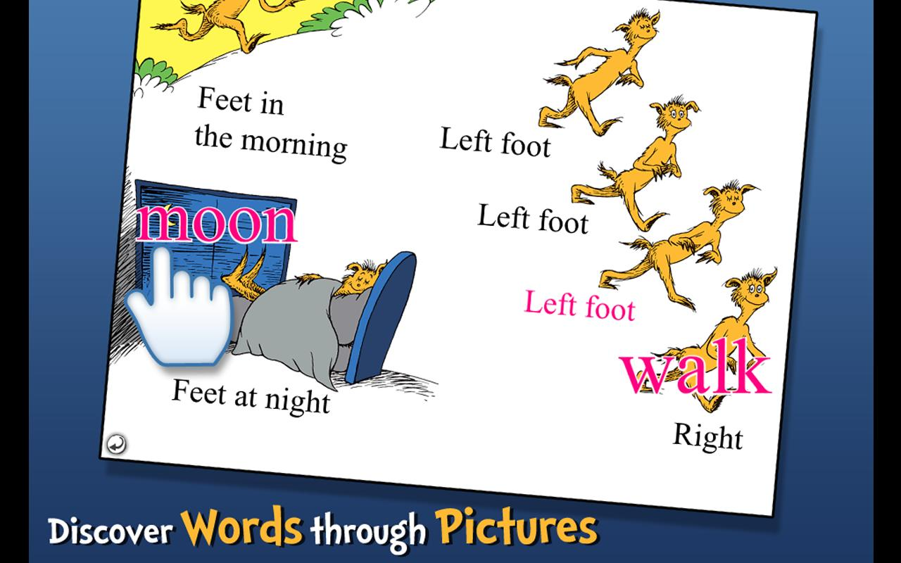 The FOOT Book - Dr. Seuss Screenshot 3