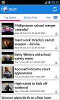 Screenshot of New Zealand News
