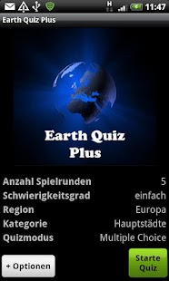 Earth Quiz + a geo trivia game- screenshot thumbnail