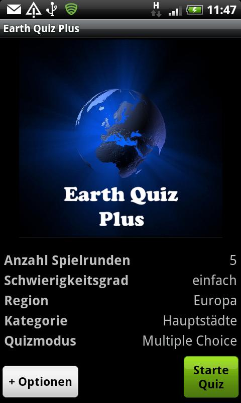 Earth Quiz + a geo trivia game- screenshot