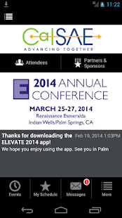 CalSAE ELEVATE Conference