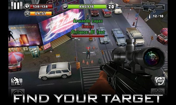 CONTRACT KILLER apk screenshot
