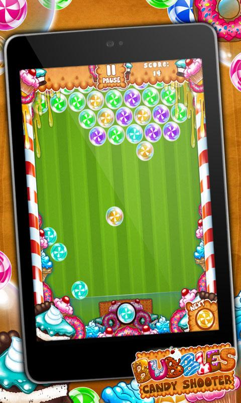 Bubbles Candy Shooter - screenshot