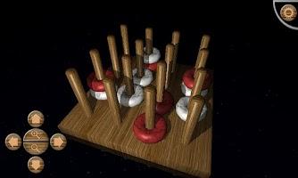 Screenshot of Gomoku 3D  HD BETA