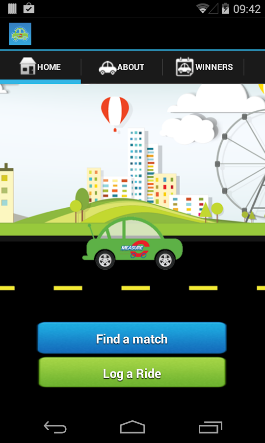 ValleyRides Carpool- screenshot