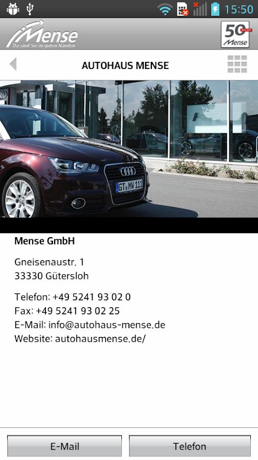 Autohaus Mense- screenshot