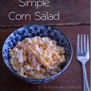 Super Simple Corn Salad