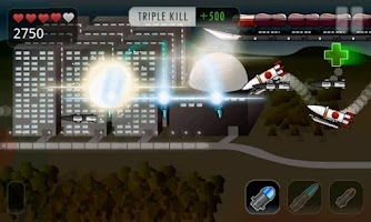 Screenshot of Rocket Racket