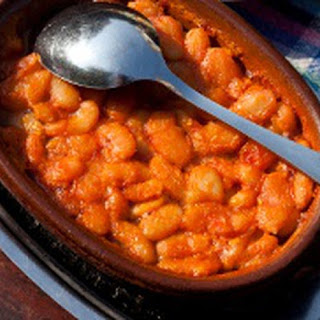 Molasses Sweetened Vegetarian Baked Beans