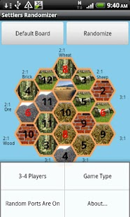 Settlers Randomizer