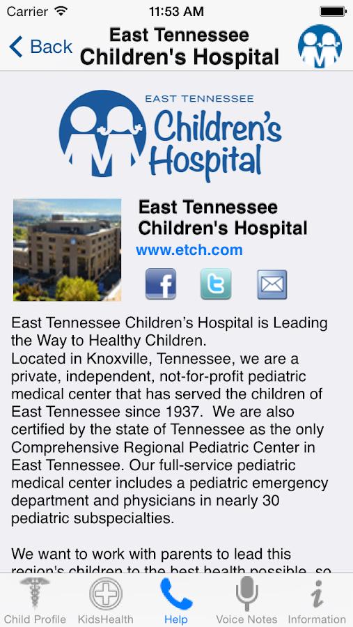 East TN Kids - screenshot