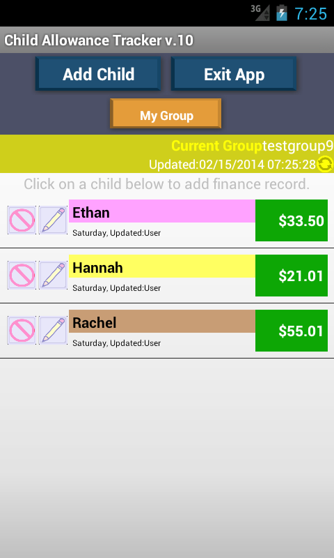 Child Allowance Money NO ADS - screenshot