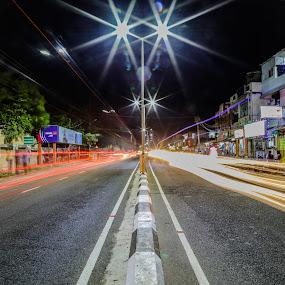 by Ajin Ponipas - City,  Street & Park  Street Scenes