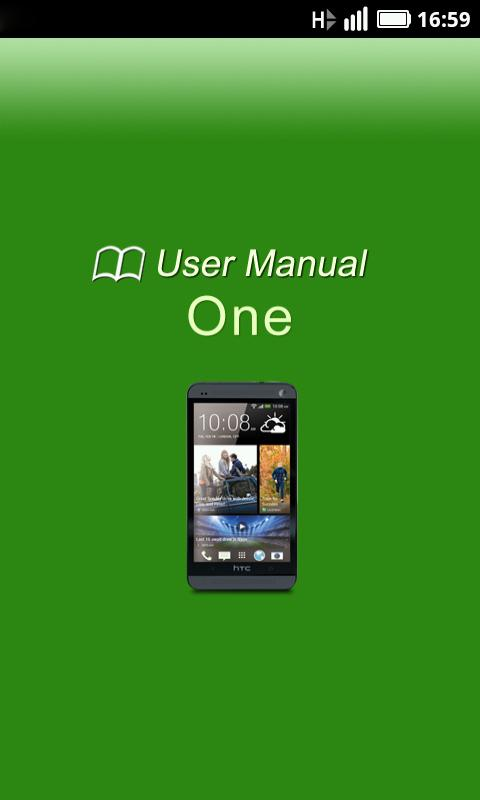 HTC One Manual - screenshot