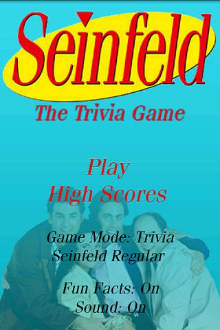 Seinfeld Trivia - screenshot