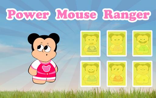 Power Mouse Ranger Memory
