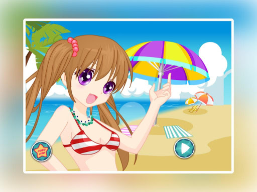 玩免費休閒APP|下載阳光女孩沙滩装扮 app不用錢|硬是要APP