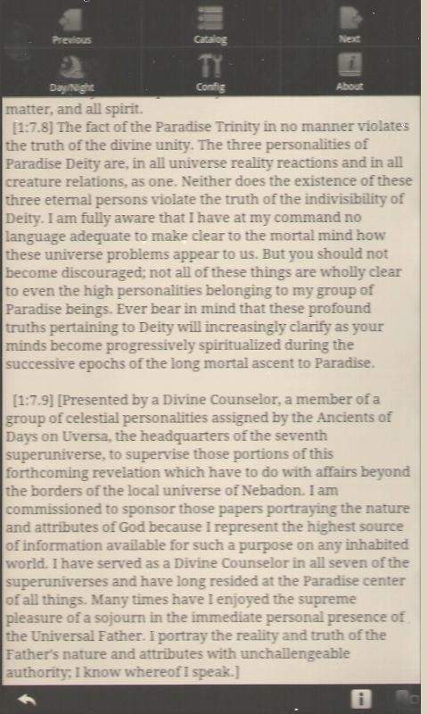 The Urantia Book- screenshot