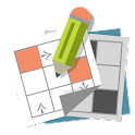 Grid games (crossword, sudoku) icon