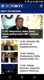 Fakty TVN - náhled