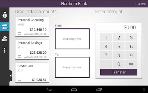Northrim Bank - Mobile Banking - screenshot thumbnail